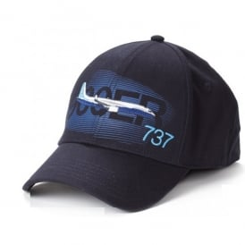 Boeing 737 Graphic Profile Baseball Cap