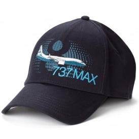 Boeing 737 Max Graphic Profile Baseball Cap