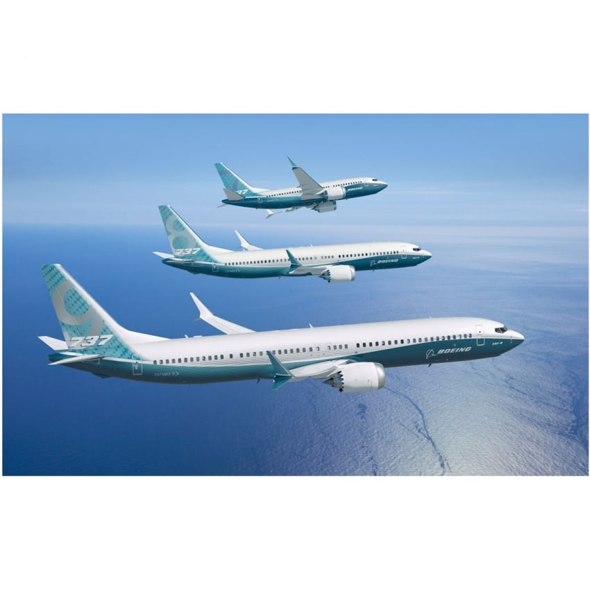 Boeing 737 Max Poster