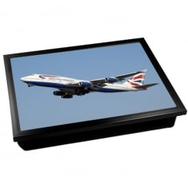 Boeing 747-400 British Airways Cushion Lap Tray