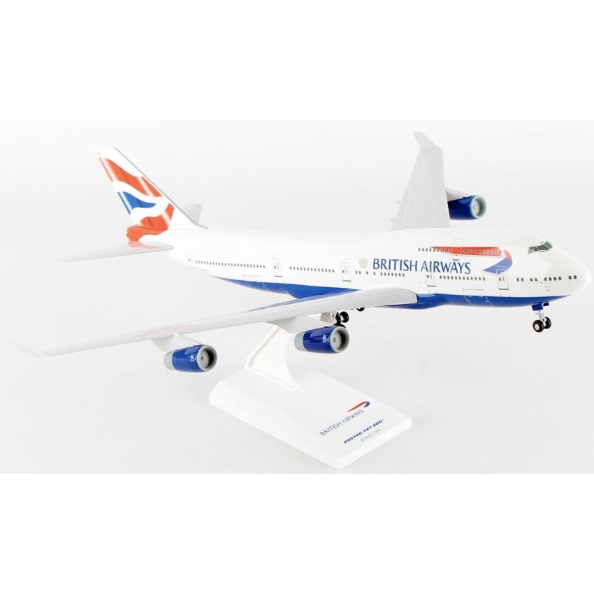 Boeing 747-400 British Airways Union Tail - Scale 1:200