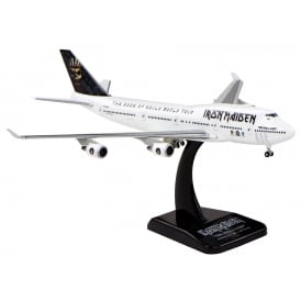 Boeing 747-400 Iron Maiden Book Of Souls Diecast Model - Scale 1:400