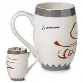 Boeing 747-8 Engine Mug