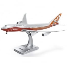 Boeing 747-8 Intercontinental Die-Cast Model - Scale 1:400
