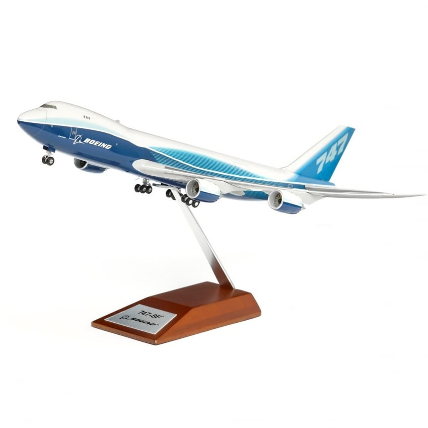 Boeing 747-8F Freighter Snap Model - Scale 1:200