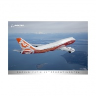 Boeing 747-8IC Sunrise Livery Poster