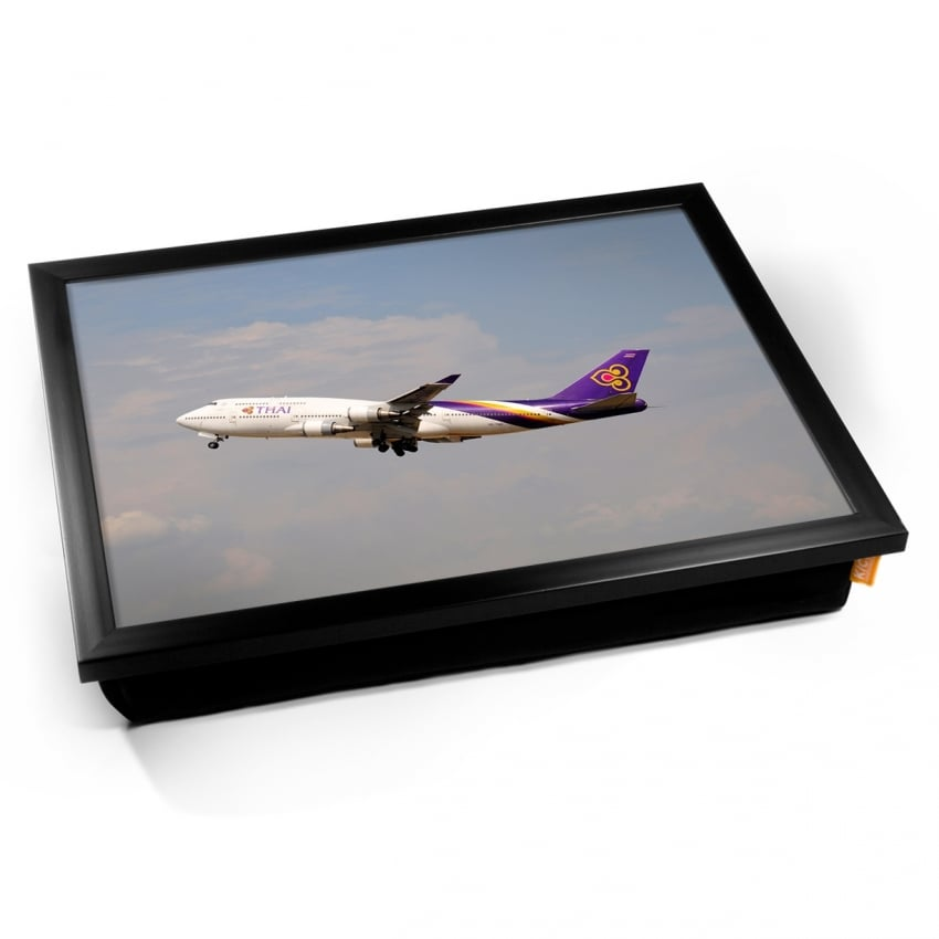 Boeing 747 Thai Airways Cushion Lap Tray