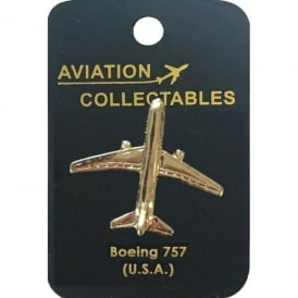 Boeing 757 Gold Pin Badge