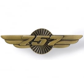 Boeing 757 Heritage Wings Pin Badge