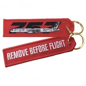 ACI Collectables Boeing 757 RBF Embroidered Keyring