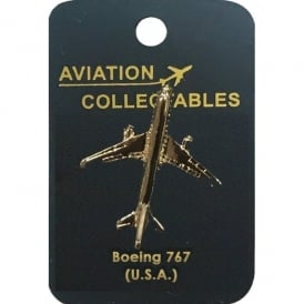 Boeing 767 Gold Pin Badge