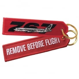 ACI Collectables Boeing 767 RBF Embroidered Keyring