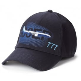 Boeing 777 Graphic Profile Baseball Cap