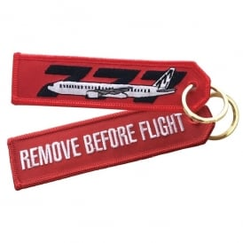 ACI Collectables Boeing 777 RBF Embroidered Keyring