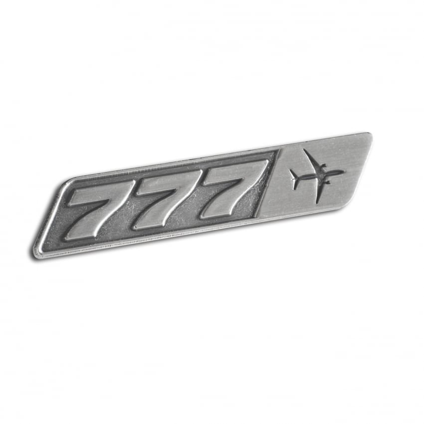 777 Top View Pin Badge - Last Stock