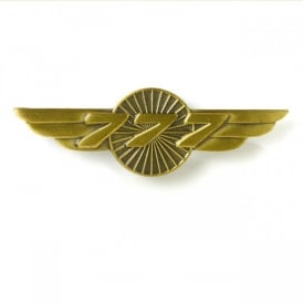 Boeing 777 Wings Pin Badge