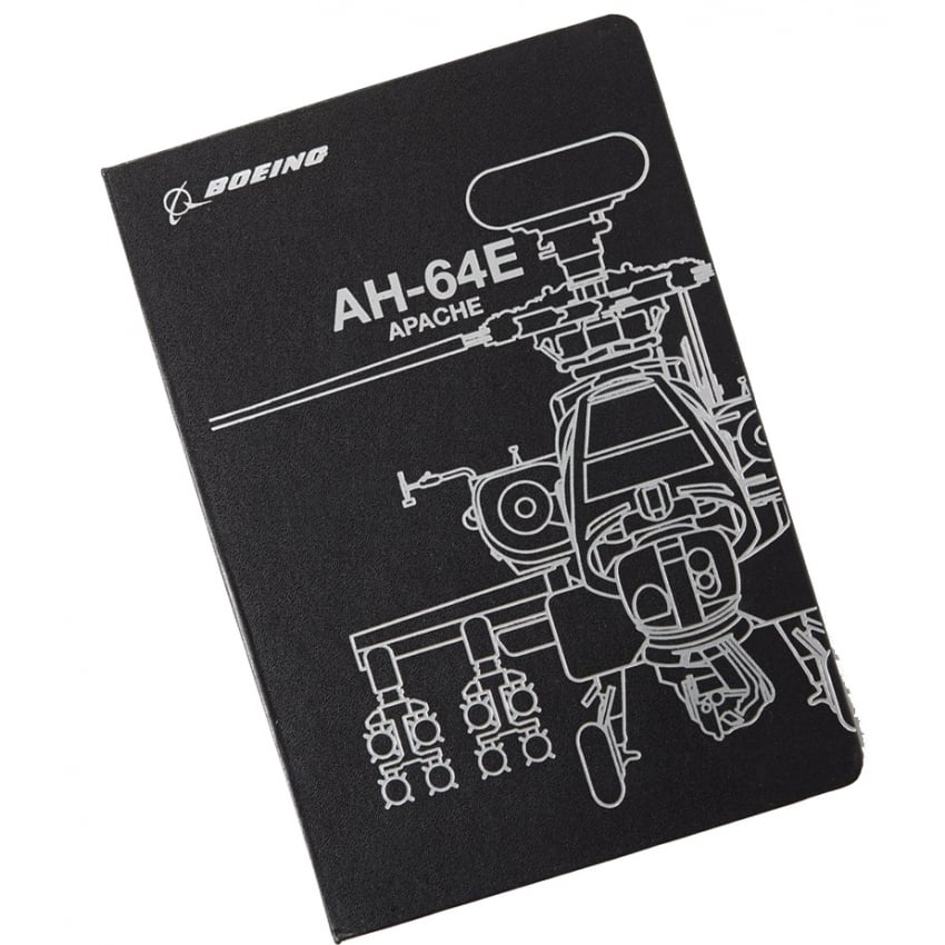 AH-64E Midnight Silver Notebook