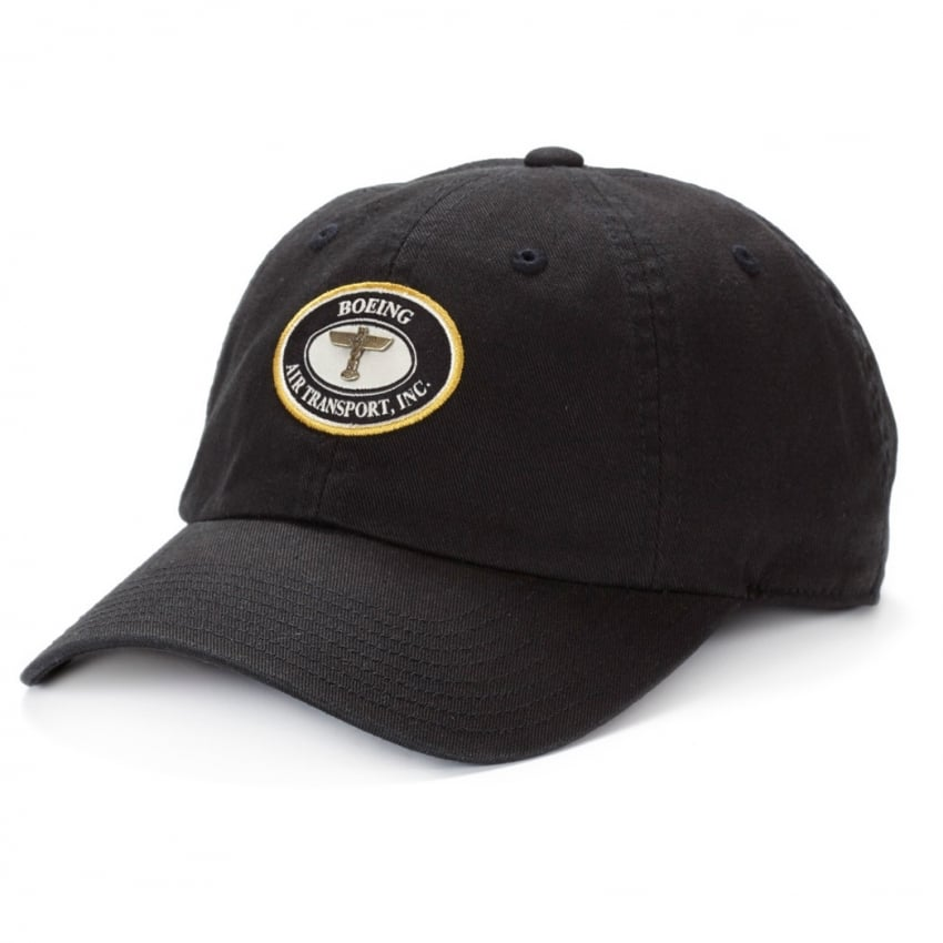 Air Transport Heritage Cap in Black