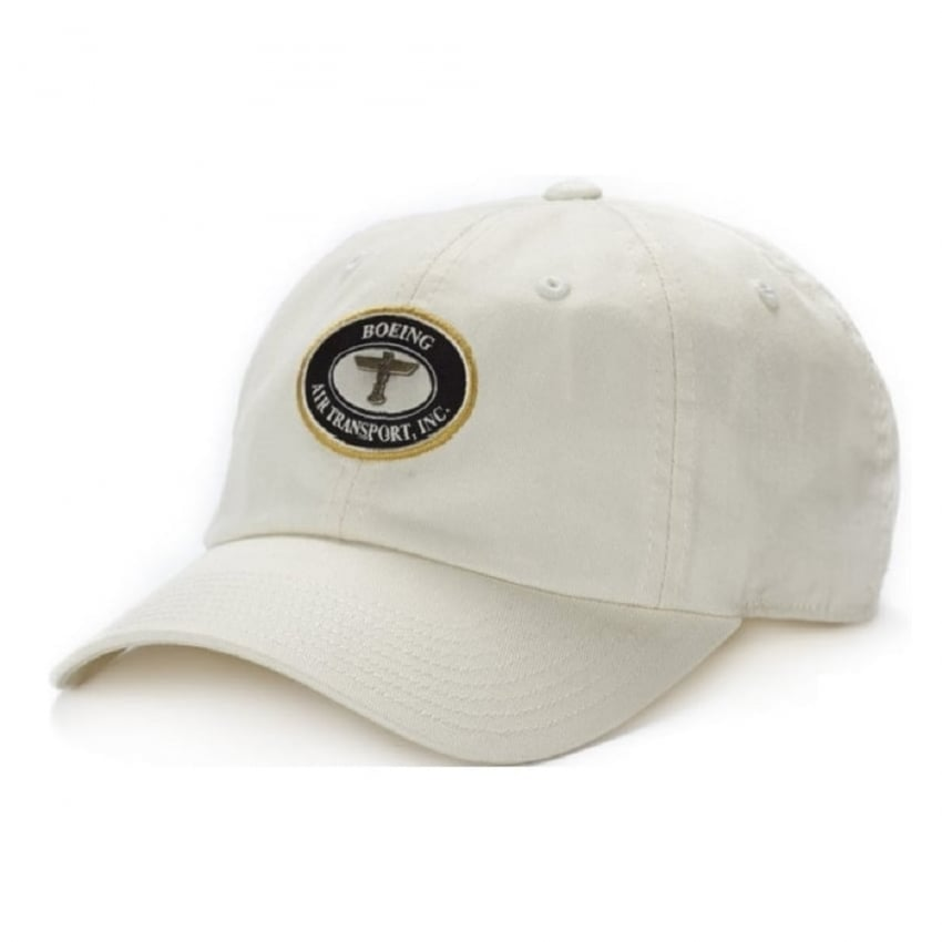 Air Transport Heritage Cap in Ivory