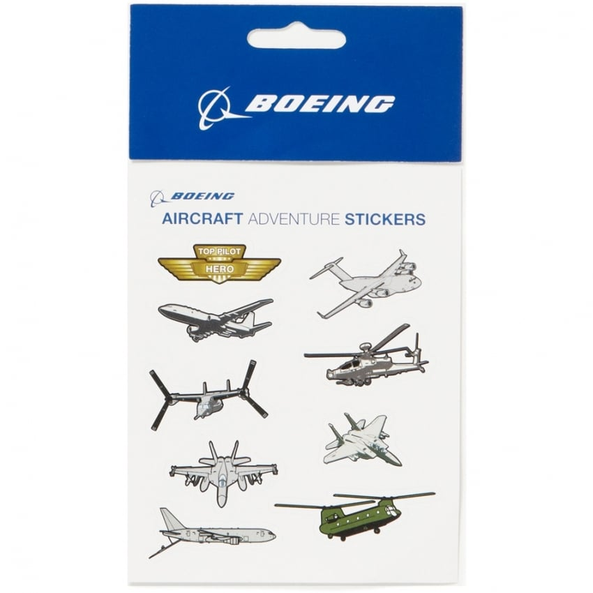 Aircraft Aventure Sticker Pack