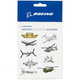 Boeing Aircraft Aventure Sticker Pack