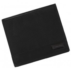 Boeing Black Nappa Leather Wallet