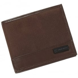 Boeing Brown Napa Leather Wallet