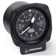 Boeing Cockpit Desk Clock