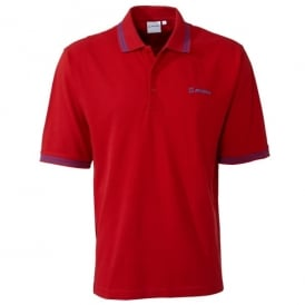 Boeing Cotton Pique Color-Tipped Polo Shirt - Last Stock