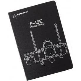 Boeing F-15E Midnight Silver Notebook