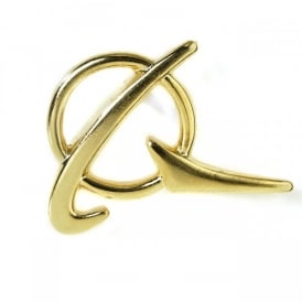 Boeing Gold Symbol Pin Badge