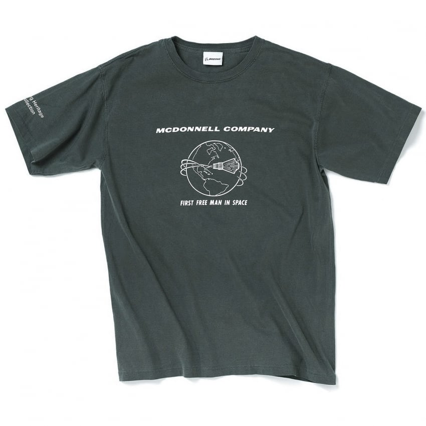 McDonnell Heritage T-Shirt in Charcoal - Last Stock