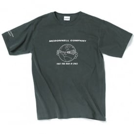 Boeing McDonnell Heritage T-Shirt in Charcoal