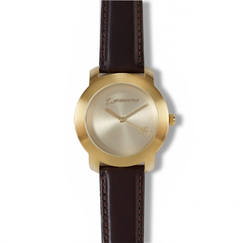 Mens Gold Rotating Watch