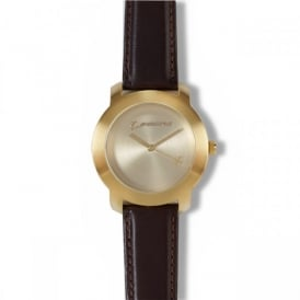 Boeing Mens Gold Rotating Watch