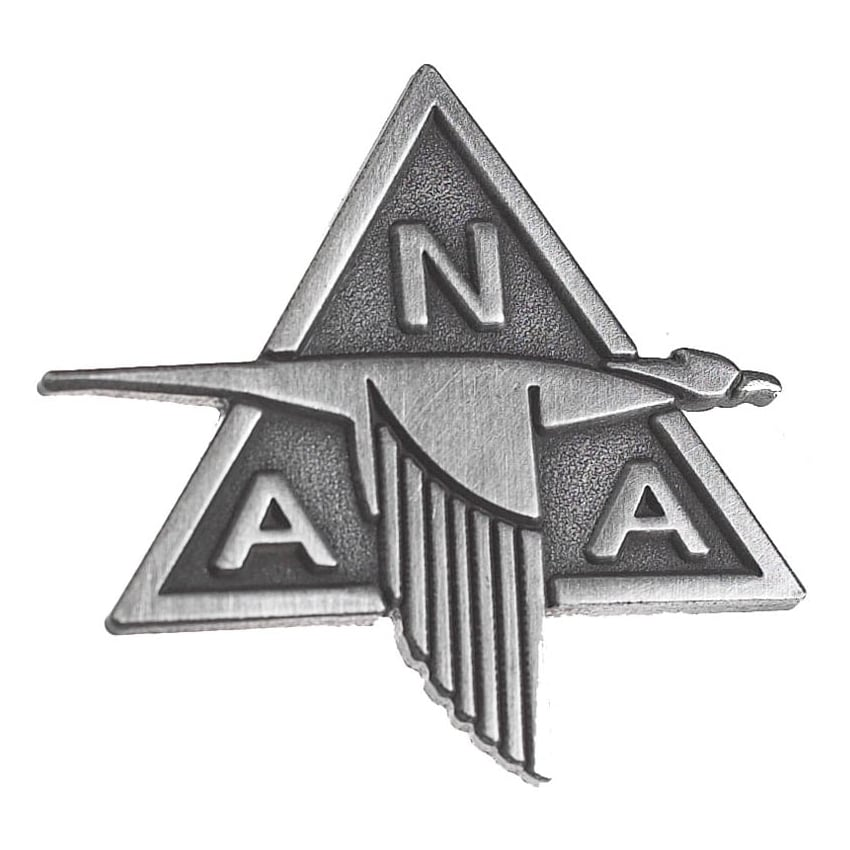 North American Pin Badge