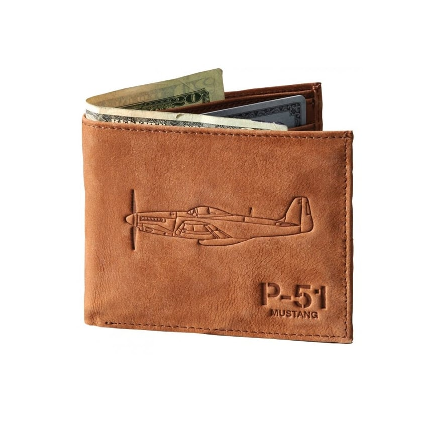 P-51 Leather Wallet