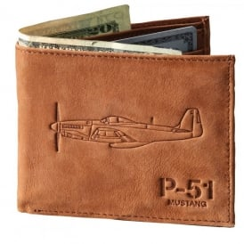 Boeing P-51 Leather Wallet