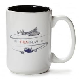 Boeing Then & Now 314 Clipper/777 Mug