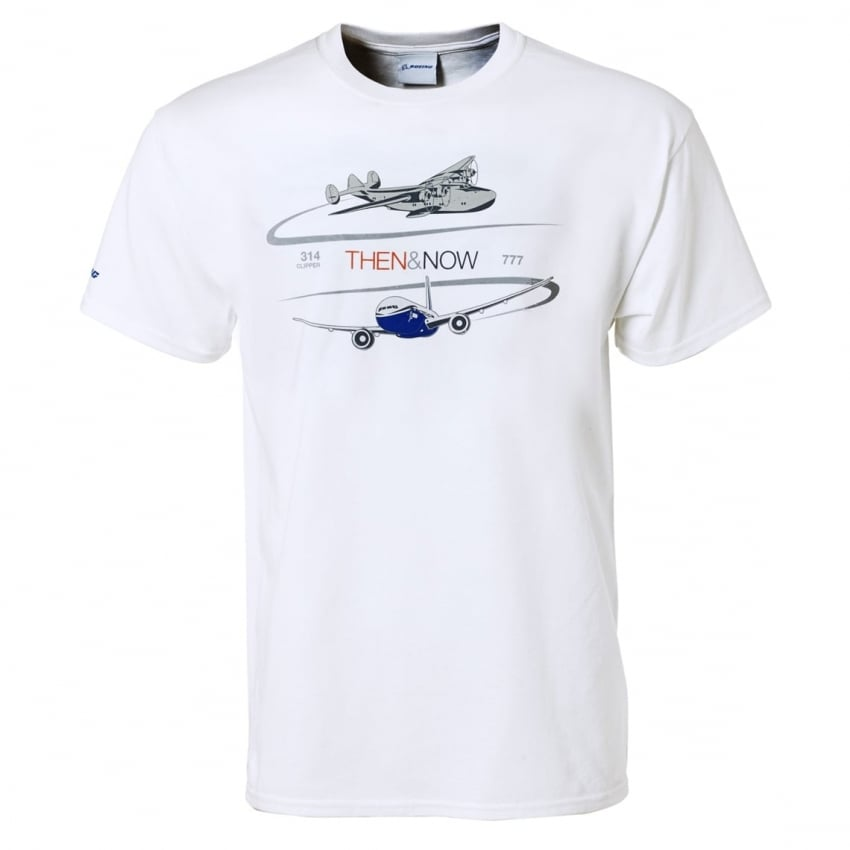 Boeing Then & Now 777 Program T-Shirt