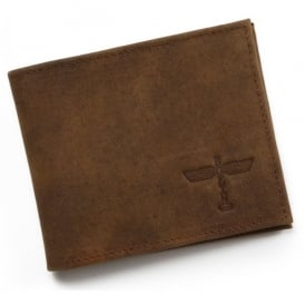 Boeing Totem Distressed Leather Wallet