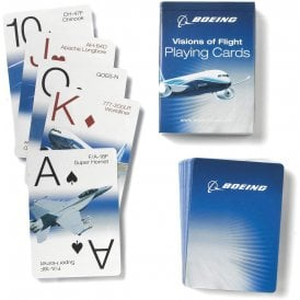 Boeing Visions of Flight Playing Cards