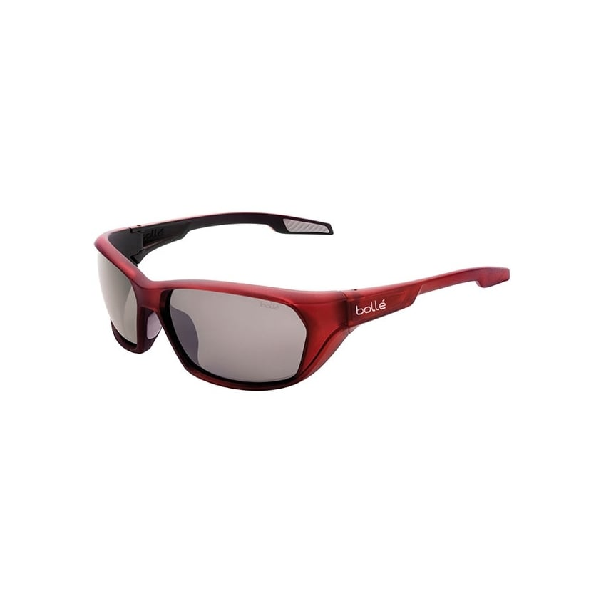 Aravis Sport Sunglasses in Red with Grey Lens