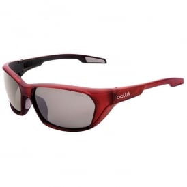 Bolle Aravis Sport Sunglasses in Red with Grey Lens