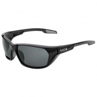 Bolle Aravis Sunglasses - Black - Grey Polarised Lens