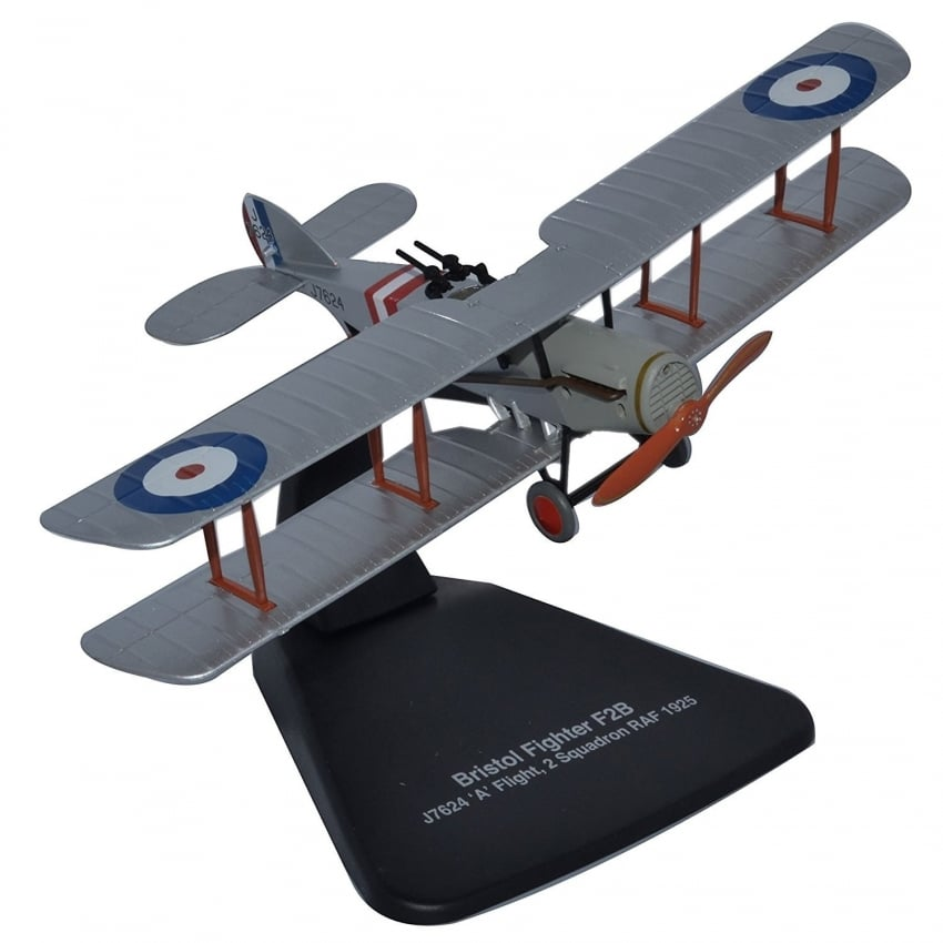 Bristol F2B Flight 2 Squadron Diecast Model 1:72