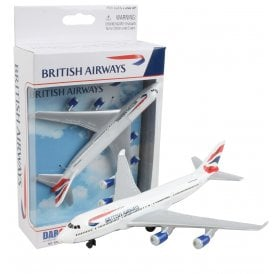 British Airways 747-400 Diecast Toy