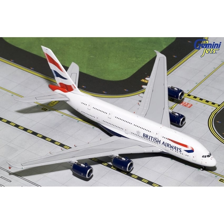 British Airways A380-800 Diecast Model - Scale 1:400