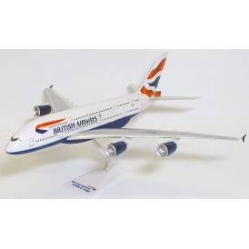 British Airways A380 Snap Model Toy - Scale 1:250