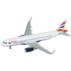 British Airways Airbus A320 Diecast Model - Scale 1:200